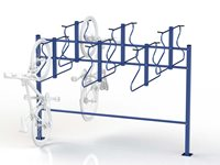 Space Saver Double Sided Rack
